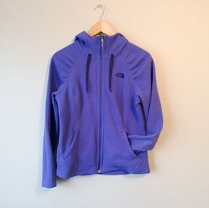 ☀️-The North Face- Purple Zip-up in Small